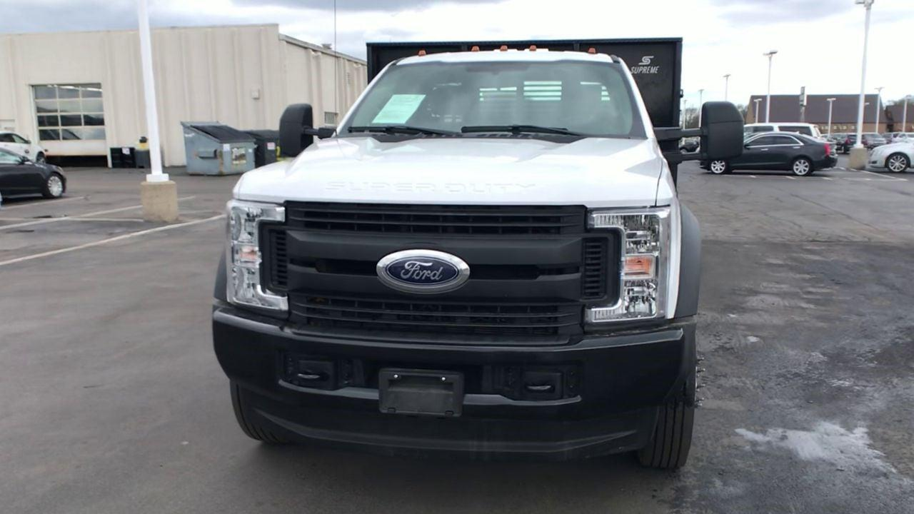 2019 Ford F-450 Regular Cab DRW 4x4, Stake Bed #111746 - photo 4
