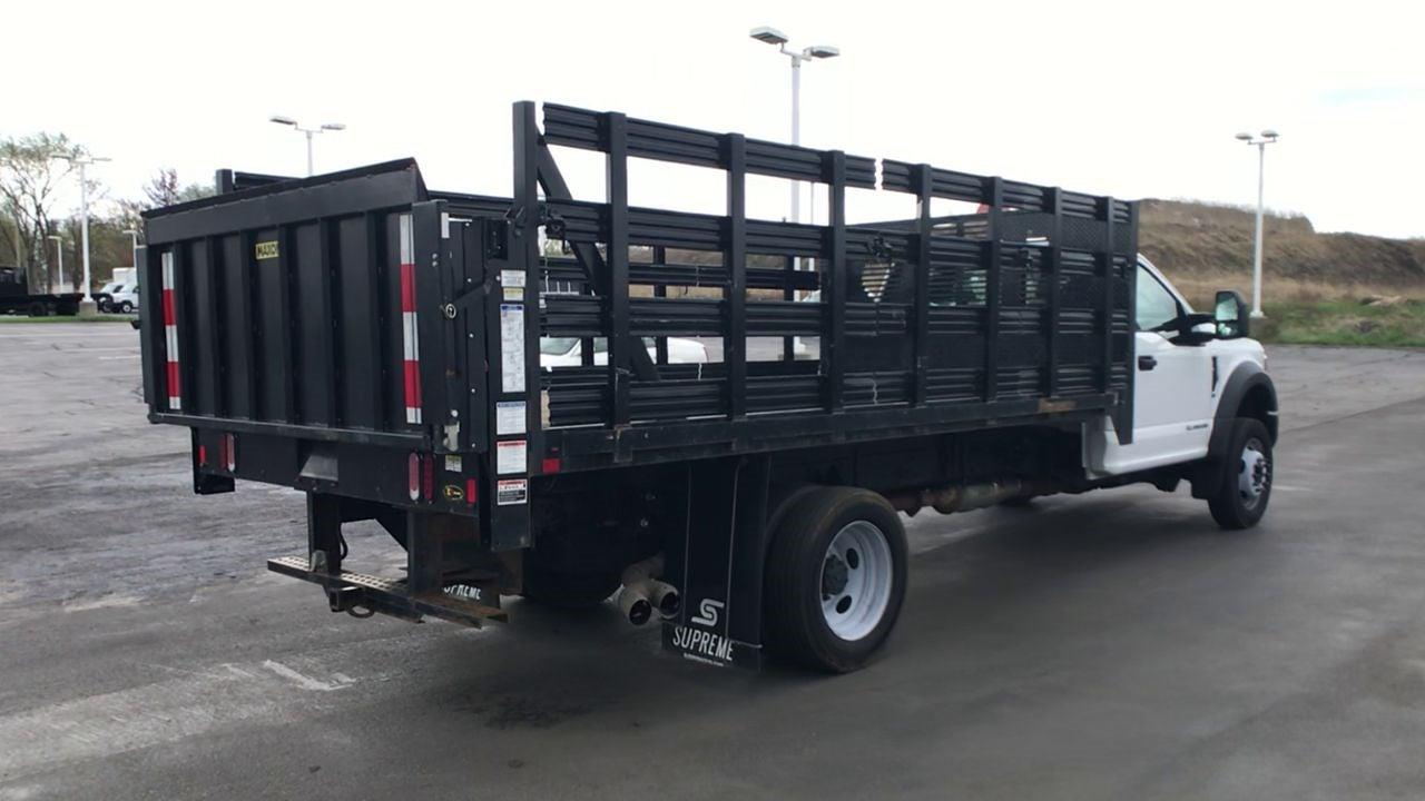 2019 Ford F-450 Regular Cab DRW 4x4, Stake Bed #111746 - photo 2