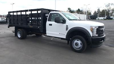 2019 Ford F-450 Regular Cab DRW 4x4, Stake Bed #111746 - photo 3