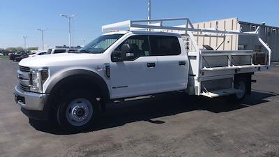 2019 Ford F-550 Crew Cab DRW 4x4, Contractor Body #111777 - photo 5