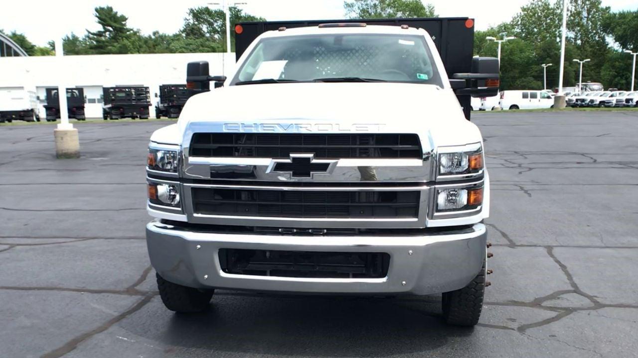 2019 Silverado 5500 Regular Cab DRW 4x2,  Monroe Truck Equipment Work-A-Hauler II Platform Body #111788 - photo 4