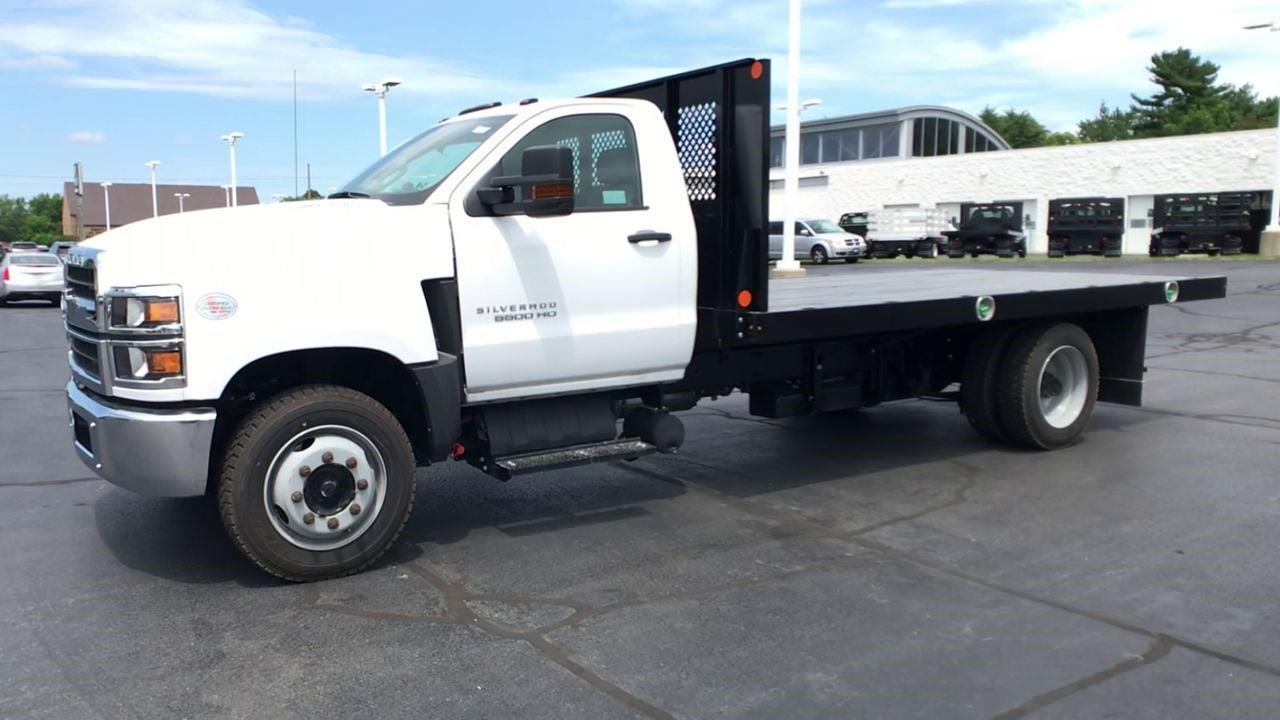 2019 Silverado 5500 Regular Cab DRW 4x2,  Monroe Truck Equipment Work-A-Hauler II Platform Body #111788 - photo 5