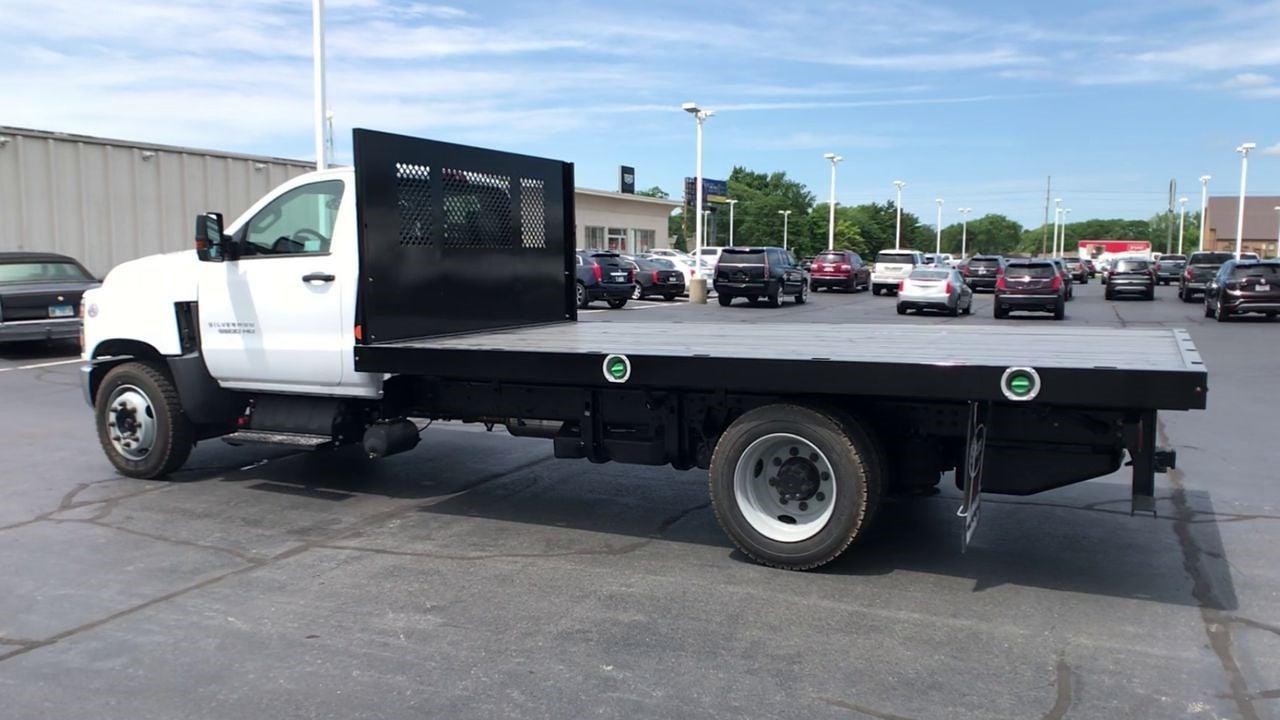 2019 Silverado 5500 Regular Cab DRW 4x2,  Monroe Truck Equipment Work-A-Hauler II Platform Body #111788 - photo 7