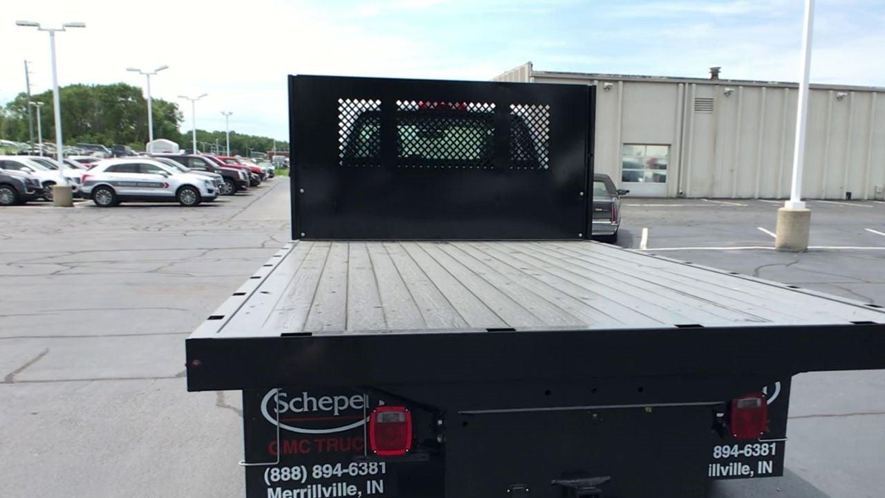 2019 Silverado 5500 Regular Cab DRW 4x2,  Monroe Truck Equipment Work-A-Hauler II Platform Body #111788 - photo 8