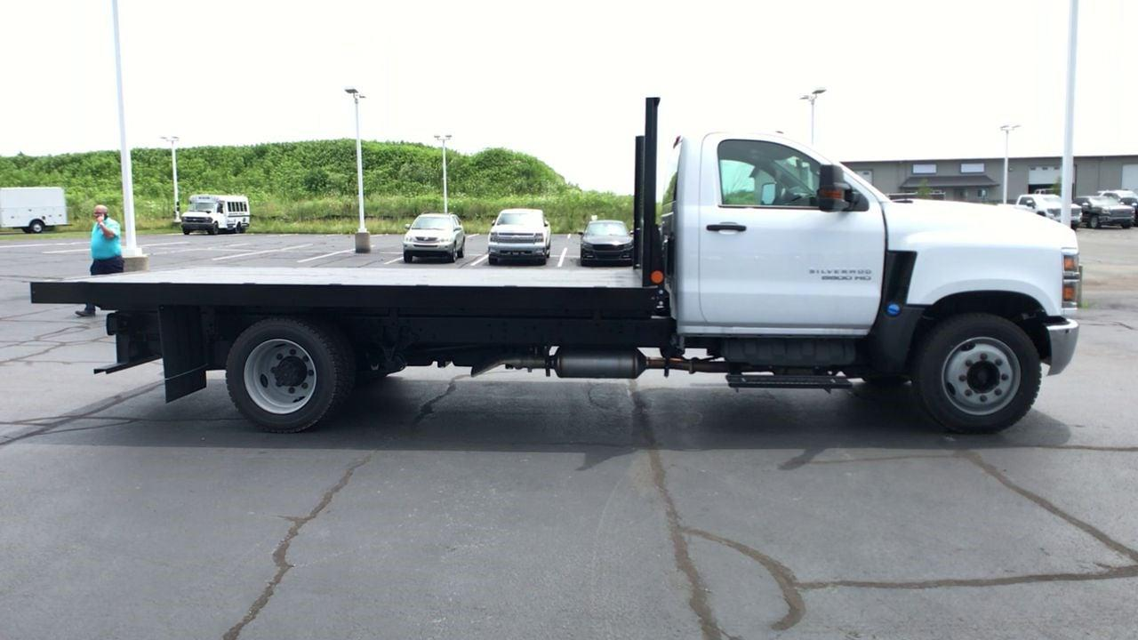 2019 Silverado 5500 Regular Cab DRW 4x2,  Monroe Truck Equipment Work-A-Hauler II Platform Body #111788 - photo 9