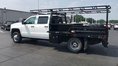 2019 Sierra 3500 Crew Cab DRW 4x4,  Contractor Body #111885 - photo 7