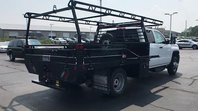 2019 Sierra 3500 Crew Cab DRW 4x4,  Contractor Body #111885 - photo 2