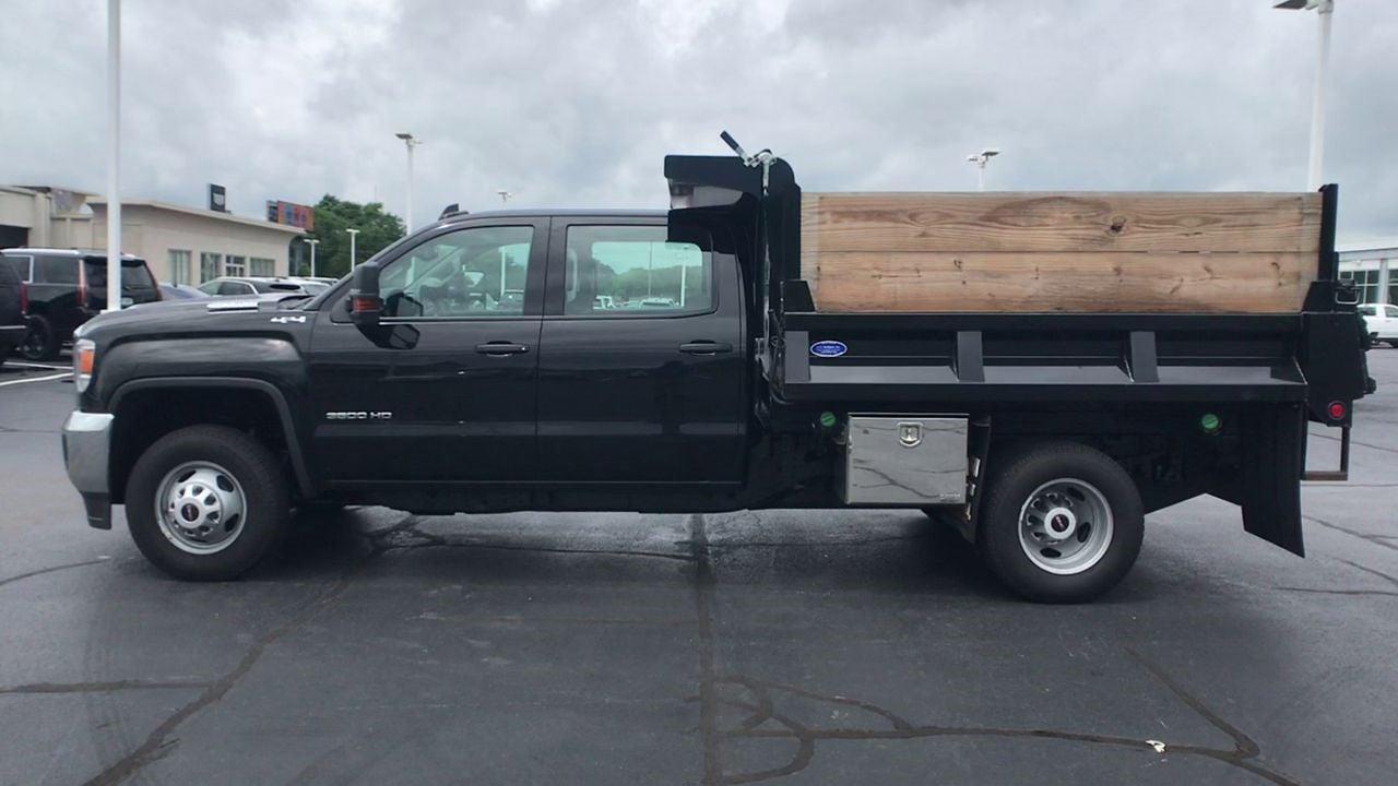 2019 Sierra 3500 Crew Cab DRW 4x4,  Dump Body #111928 - photo 6