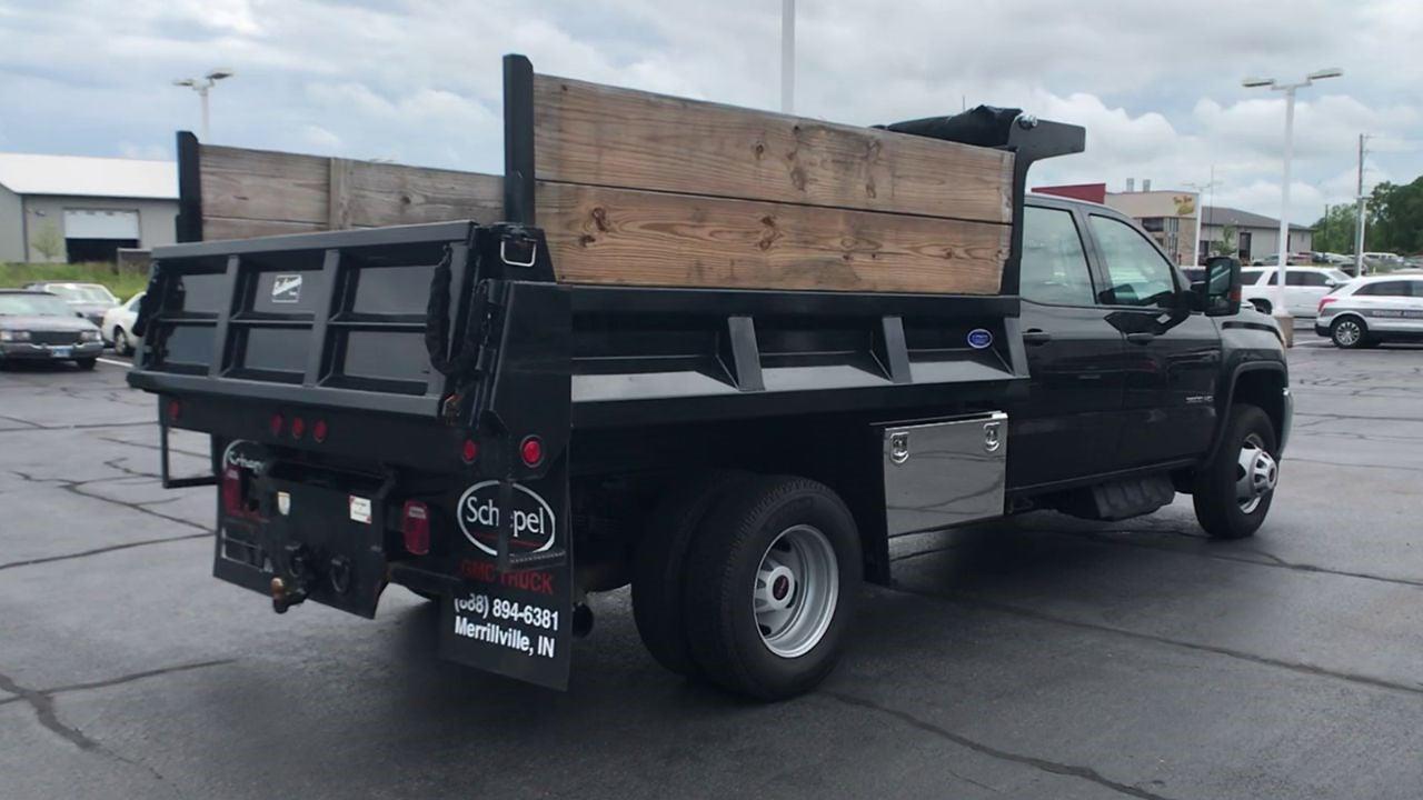 2019 GMC Sierra 3500 Crew Cab DRW 4x4, Dump Body #111928 - photo 1