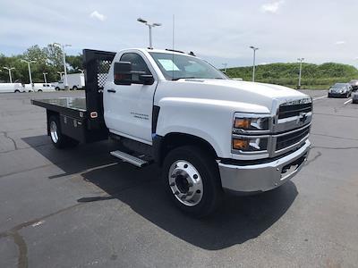 2019 Silverado 5500 Regular Cab DRW 4x2,  Monroe Truck Equipment Work-A-Hauler II Platform Body #111951 - photo 1