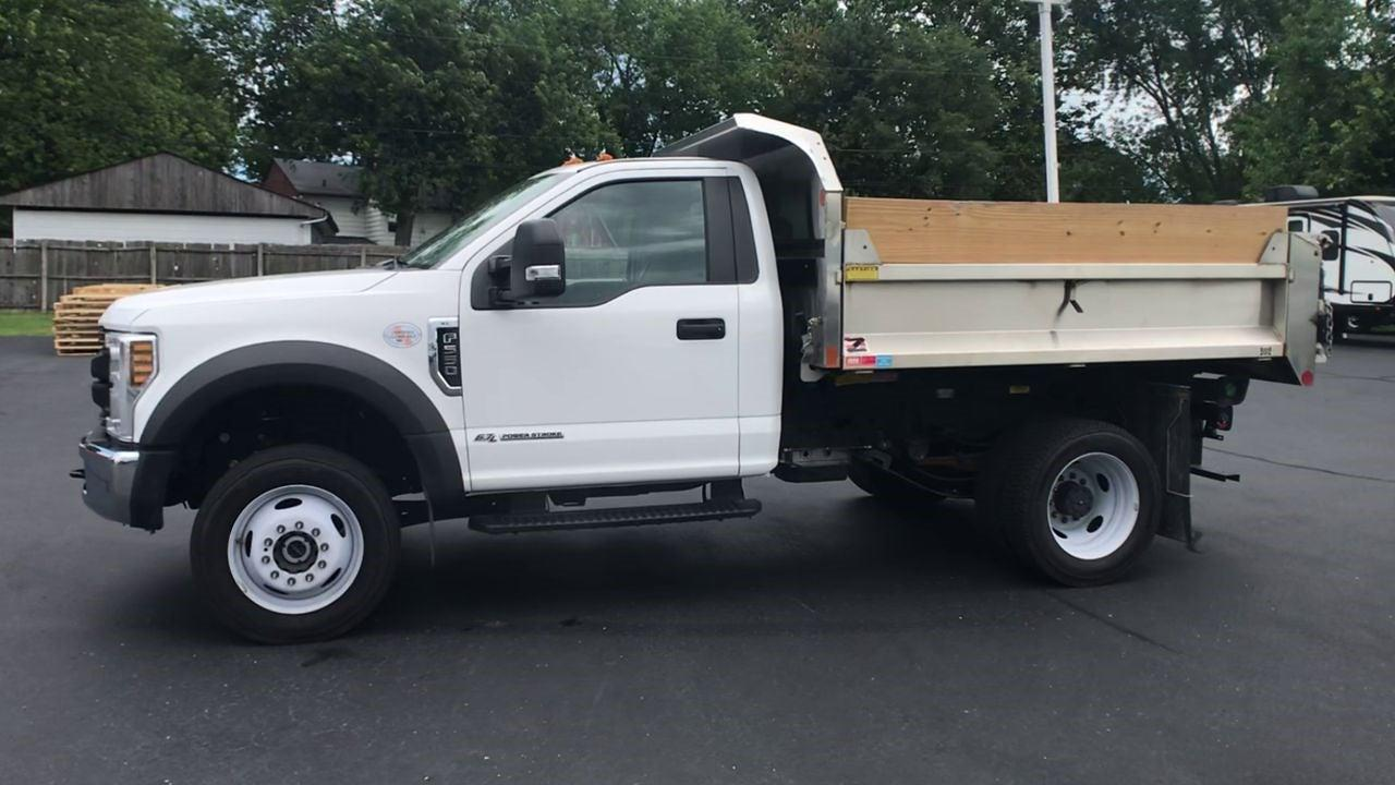 2019 F-550 Regular Cab DRW 4x4,  Monroe Truck Equipment MTE-Zee SST Series Dump Body #111963A - photo 5