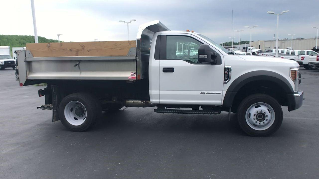2019 F-550 Regular Cab DRW 4x4,  Monroe Truck Equipment MTE-Zee SST Series Dump Body #111963A - photo 9