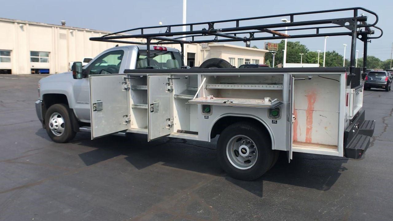 2018 Silverado 3500 Regular Cab 4x4,  Service Body #112025 - photo 7