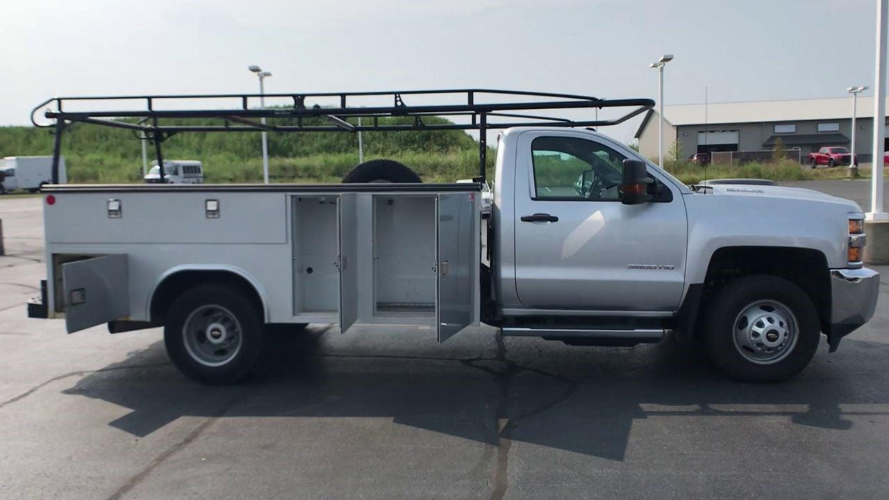 2018 Silverado 3500 Regular Cab 4x4,  Service Body #112025 - photo 9