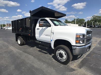 2021 Silverado 5500 Regular Cab DRW 4x4,  Landscape Dump #112097 - photo 1