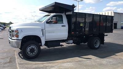 2021 Silverado 5500 Regular Cab DRW 4x4,  Landscape Dump #112097 - photo 5