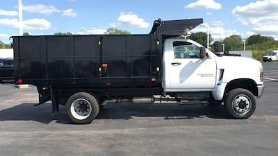 2021 Silverado 5500 Regular Cab DRW 4x4,  Landscape Dump #112097 - photo 9