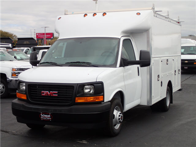 2017 Savana 3500 Service Utility Van #HT10X61 - photo 1