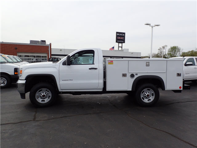 2017 Sierra 2500 Regular Cab 4x4, Monroe Service Body #HT12X41 - photo 5
