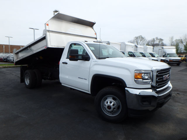 2017 Sierra 3500 Regular Cab 4x4, Monroe MTE-Zee Dump Dump Body #HT157 - photo 1