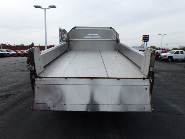2017 Sierra 3500 Regular Cab 4x4, Monroe MTE-Zee Dump Dump Body #HT157 - photo 6