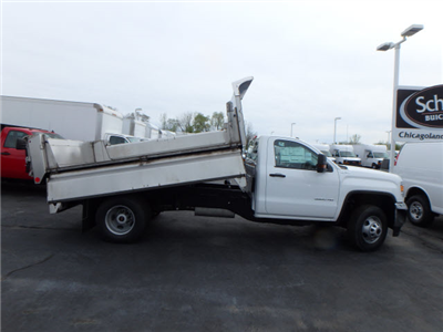 2017 Sierra 3500 Regular Cab 4x4, Monroe MTE-Zee Dump Dump Body #HT157 - photo 7