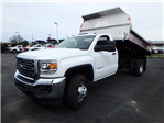2017 Sierra 3500 Regular Cab 4x4, Monroe MTE-Zee Dump Dump Body #HT157 - photo 3