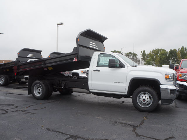 2017 Sierra 3500 Regular Cab DRW 4x4, Monroe MTE-Zee Dump Dump Body #HT166 - photo 4