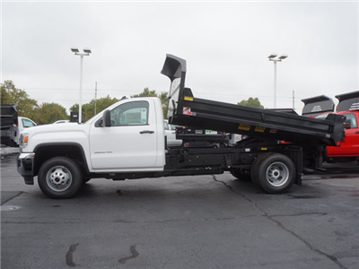 2017 Sierra 3500 Regular Cab DRW 4x4, Monroe MTE-Zee Dump Dump Body #HT166 - photo 6