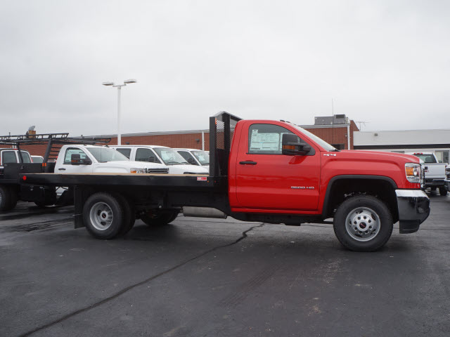 2017 Sierra 3500 Regular Cab 4x4 Platform Body #HT317 - photo 3