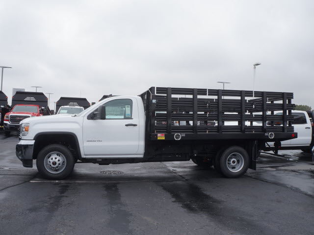 2017 Sierra 3500 Regular Cab Stake Bed #HT334 - photo 5