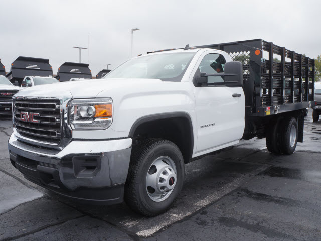 2017 Sierra 3500 Regular Cab Stake Bed #HT334 - photo 6