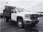 2017 Sierra 3500 Regular Cab Stake Bed #HT334 - photo 1