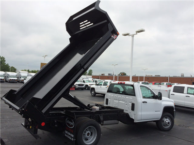 2017 Sierra 3500 Regular Cab DRW, Dump Body #HT5X108 - photo 6