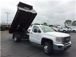 2017 Sierra 3500 Regular Cab DRW, Dump Body #HT5X108 - photo 8