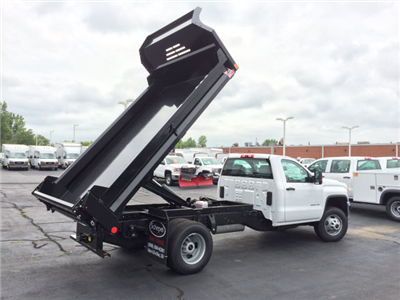 2017 Sierra 3500 Regular Cab 4x4 Dump Body #HT5X110 - photo 6