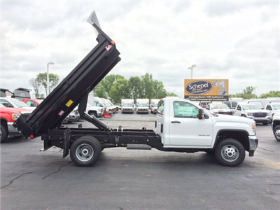 2017 Sierra 3500 Regular Cab 4x4 Dump Body #HT5X110 - photo 7