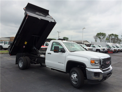 2017 Sierra 3500 Regular Cab 4x4 Dump Body #HT5X110 - photo 8