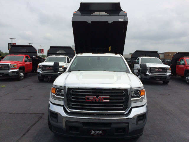 2017 Sierra 3500 Regular Cab DRW 4x4, Monroe MTE-Zee Dump Dump Body #HT5X111 - photo 4