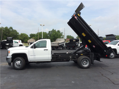 2017 Sierra 3500 Regular Cab DRW 4x4, Monroe MTE-Zee Dump Dump Body #HT5X111 - photo 5