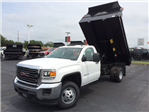 2017 Sierra 3500 Regular Cab DRW 4x4, Monroe MTE-Zee Dump Dump Body #HT5X111 - photo 3