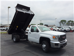 2017 Sierra 3500 Regular Cab DRW 4x4, Monroe MTE-Zee Dump Dump Body #HT5X111 - photo 9