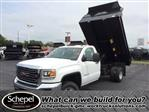 2017 Sierra 3500 Regular Cab DRW 4x4, Monroe MTE-Zee Dump Dump Body #HT5X111 - photo 1
