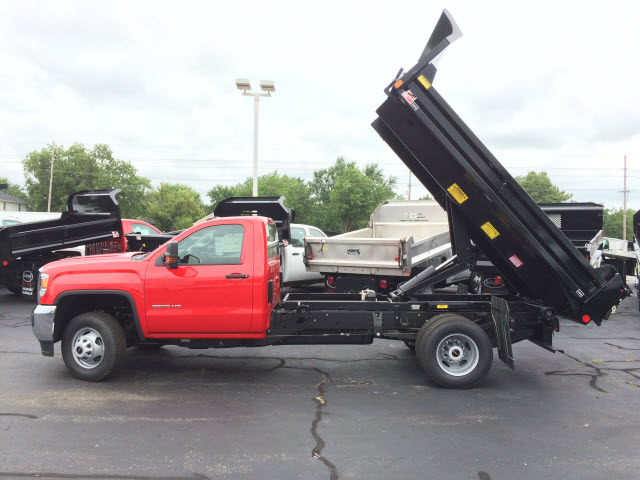 2017 Sierra 3500 Regular Cab DRW, Monroe MTE-Zee Dump Dump Body #HT5X114 - photo 5