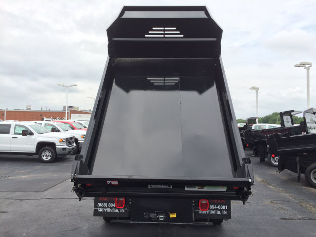 2017 Sierra 3500 Regular Cab DRW, Monroe MTE-Zee Dump Dump Body #HT5X114 - photo 6