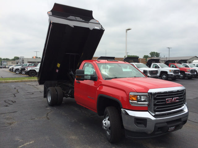 2017 Sierra 3500 Regular Cab DRW, Monroe MTE-Zee Dump Dump Body #HT5X114 - photo 9