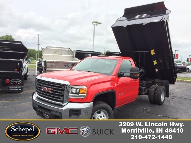 2017 Sierra 3500 Regular Cab DRW, Monroe MTE-Zee Dump Dump Body #HT5X114 - photo 1