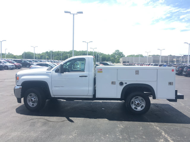 2017 Sierra 2500 Regular Cab 4x4,  Monroe Service Body #HT614 - photo 4
