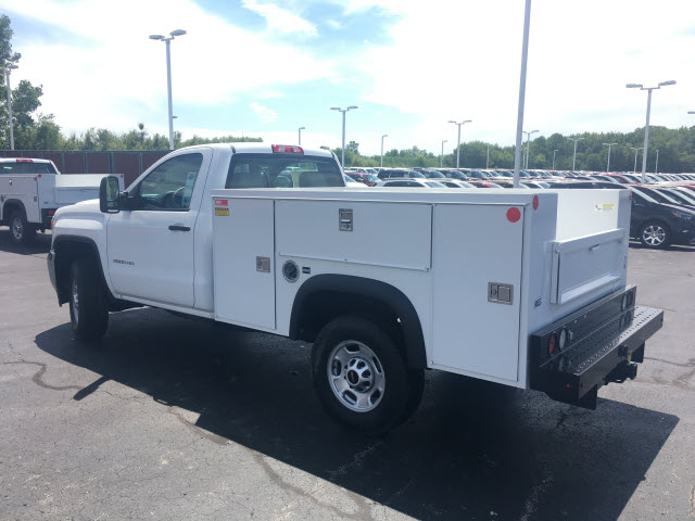 2017 Sierra 2500 Regular Cab 4x4,  Monroe Service Body #HT614 - photo 2