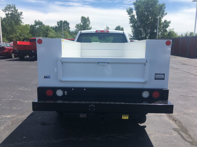 2017 Sierra 2500 Regular Cab 4x4,  Monroe Service Body #HT614 - photo 5